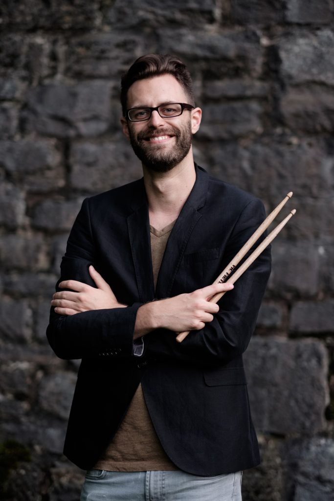 Portrait David Kandert mit Sticks
